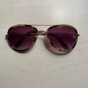 Free People Cheetah Sunglasses